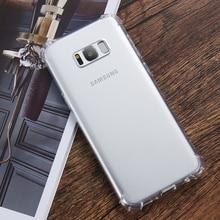 Transparent Design Shockproof Case for Samsung – FREE Shipping