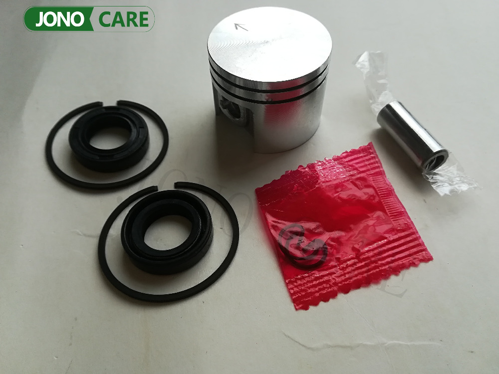 38mm Piston Pin Rings Kit / Crankshaft Oil Seals assy For STIHL 018 MS180 Chainsaw Engine Parts 11300302004, 96380031581 38mm cylinder piston rings needle bearing kit for stihl ms180 ms 180 018 chainsaw