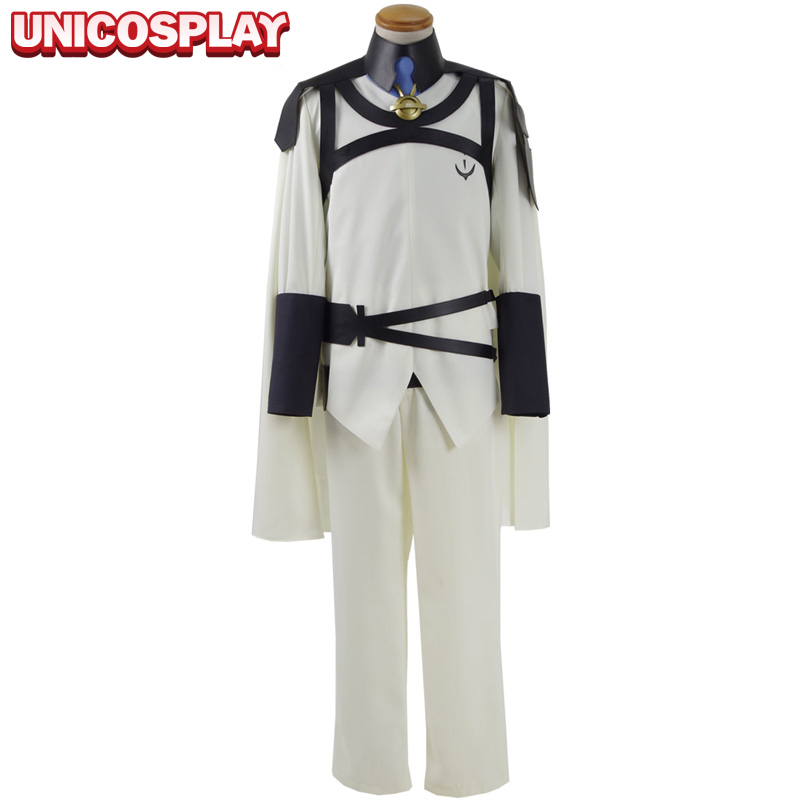 Seraph of the End Costume Mikaela Hyakuya Cosplay Vampire Uniform  Halloween Party Top Cloak Shirt Pants Belt