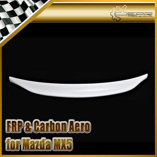 Style de voiture pour Mazda MX5 NA MK1 Miata FRP fibre de verre Type 2 aileron de coffre arrière