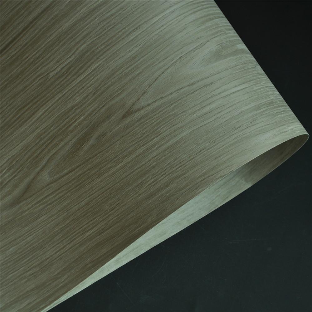 Grey Oak Engineered Veneer with Fleece Backer