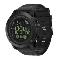 Spovan Mens Watches Silicon Compass Top Brand Luxury Smart Sport Wristwatch Digital Relogio Masculino Military Quality 2019 Gift