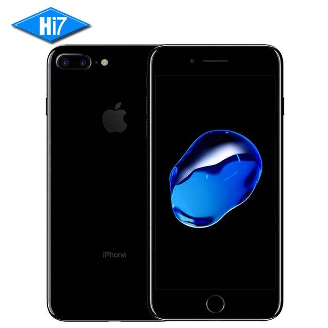 Новый оригинальный apple iphone 7 plus смартфон 3 ГБ ram 128 ГБ ROM Quad-Core Отпечатков Пальцев 12.0MP Камеры IOS 10 Мобильного телефона 4 Г LTE