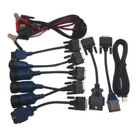 Full Set Cables For XTruck USB Link Truck Diagnose Diagnostic Cable For GMC VOLVO MACK