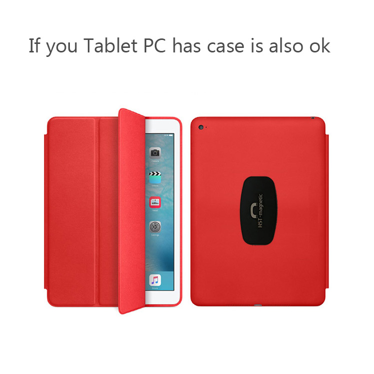PFHEU Wall Mount Tablet Magnetic Stand Magnet Adsorption Principle Convenience to pick-and-place Support All Tablets PC