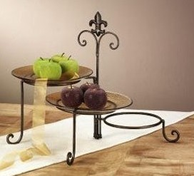 3 Tier Iron Metal Cupcake Stand Cupcake Display Stand Party Supplies Food/  Dessert/Fruit