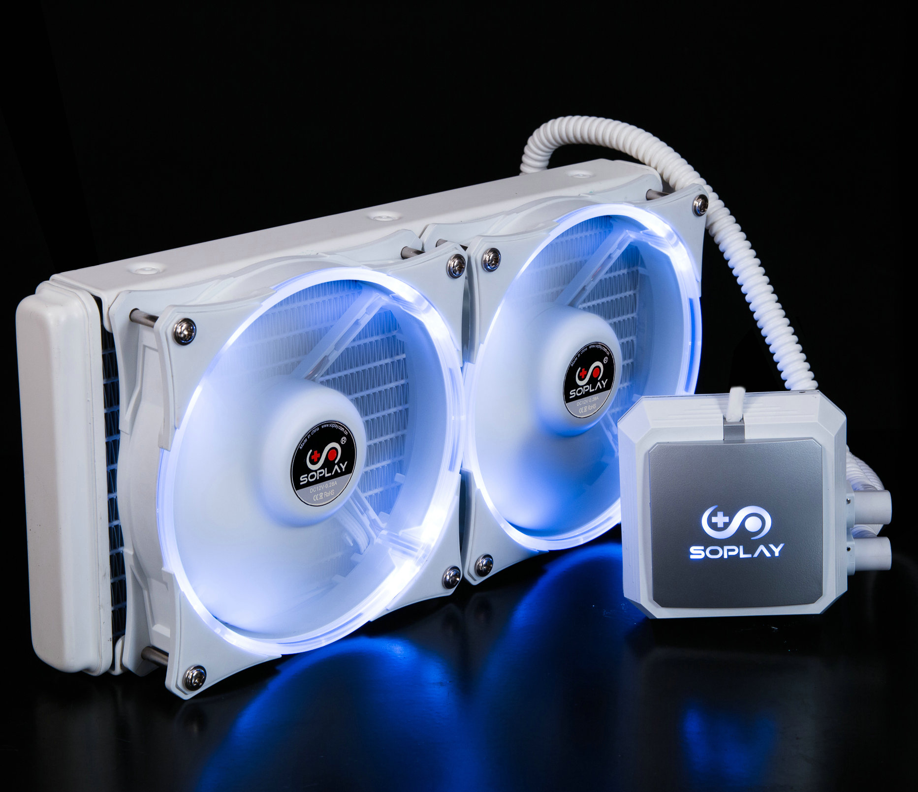 SP-C2407 upgraded version of 240mm water-cooled radiator to send AM4 RYZEN buckle