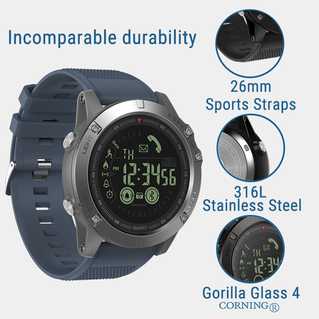 33-month Standby Time 24h All-Weather Monitoring Smart Watch 3