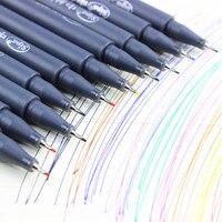 10 pcs lot color drawing pen for fine line design 0 38mm water color pens micron.jpg 200x200