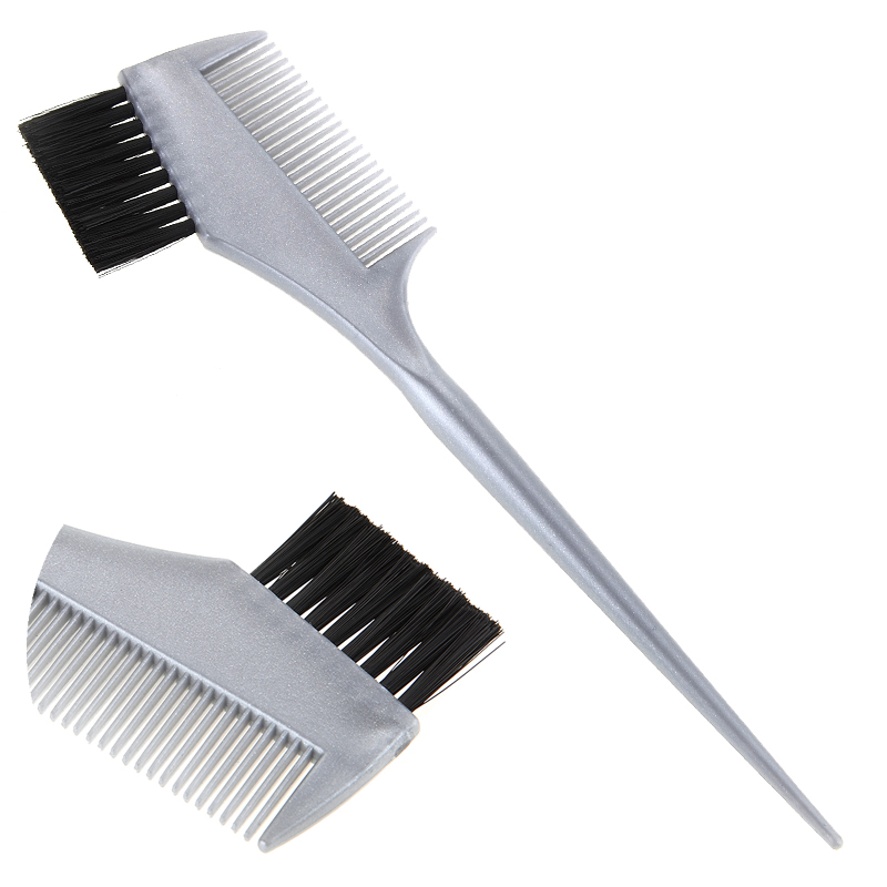 Durable Hair Coloring Comb In Green Hairdressing Dye Brush With ABS ...