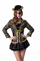 Adult Pirate Costumes Sets Sexy Halloween Costumes For Women Cosplay Party Dress