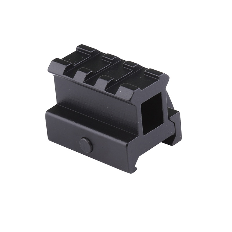 Quick Release Dovetail Card Slot Scope Rail Mount High Profile Riser Mount With 4slots Scope Mount Extend 20mm Dovetail Extend