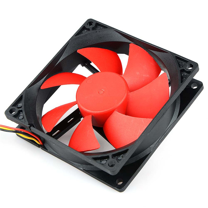 90x90x25mm 3pin Hydraulic Bearing Computer Case Cooling Fan 12V Direct Current 90mm Computer Cooler Fan High Quality Fan New