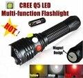 XH-99 CREE Q5 светодиодный сигнальный свет желтый белый красный фонарик светодиодный фонарь яркий свет сигнальная лампа для 1x18650 или 3 x AAA батареи
