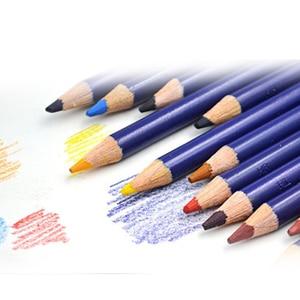 Image 5 - 12 adet/grup Derwent Inktense 12 kalem teneke seti çözünür kalem boyama rotulador