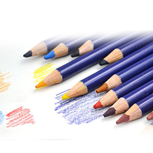 Image 5 - 12 pièces/lot dergone Inktense 12 crayons etain ensemble crayon Soluble pour peinture rotule