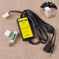 USB AUX Input MP3 Player CD Audio Media Interface Adapter Changer Cable Car Reader For Honda