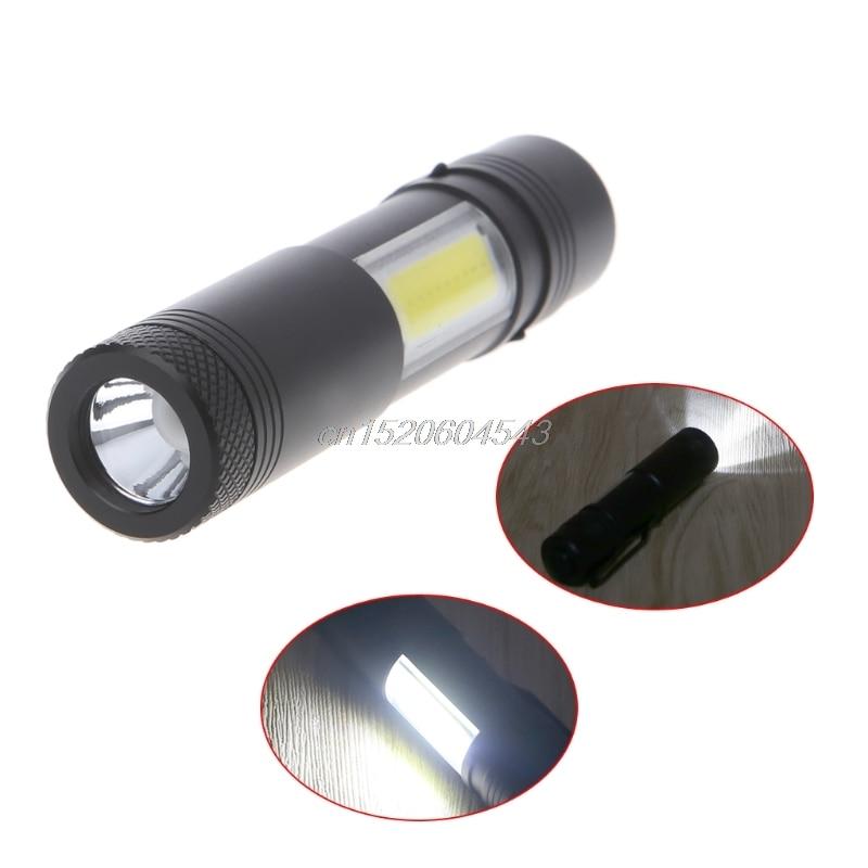 12000 Lumen Mini Flashlight XPE+COB LED Torch Lamp Penlight AA/14500 4 Modes R24 Drop Ship ...