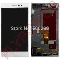 For Huawei Ascend P7 Lcd Screen Display With Touch Screen Digitizer Frame Assembly By Free Shipping
