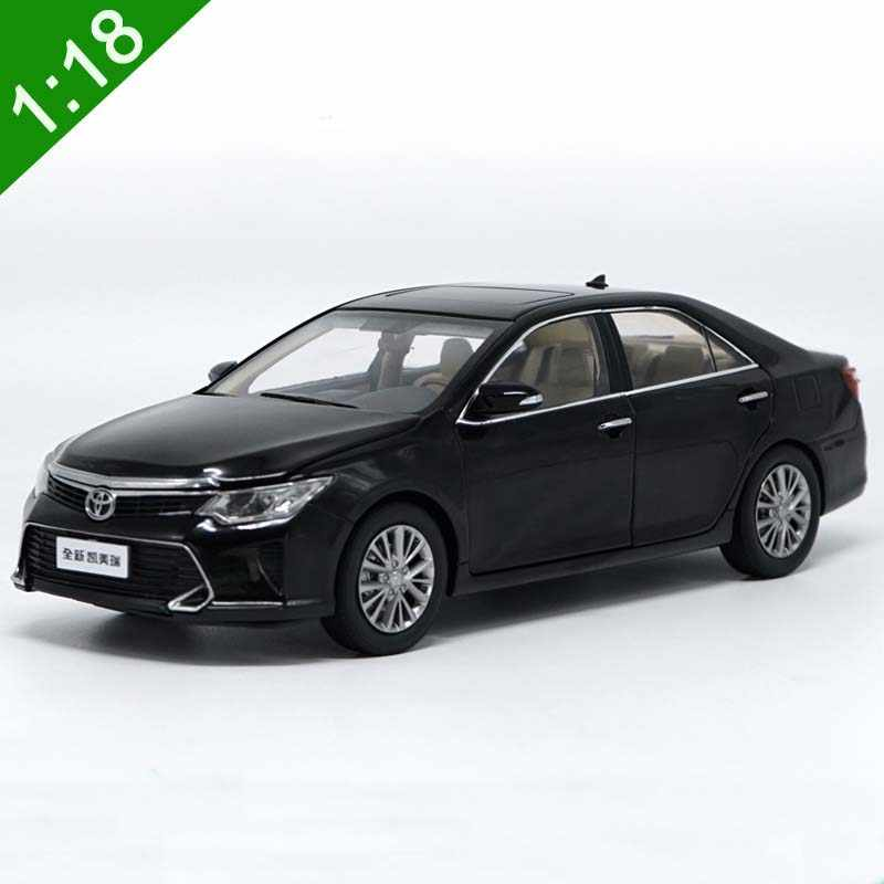 1:18 All New Toyota Camry 2015 Diecast Car Model For Kids Birthday Gifts Toys Original Box Free Shipping Collection