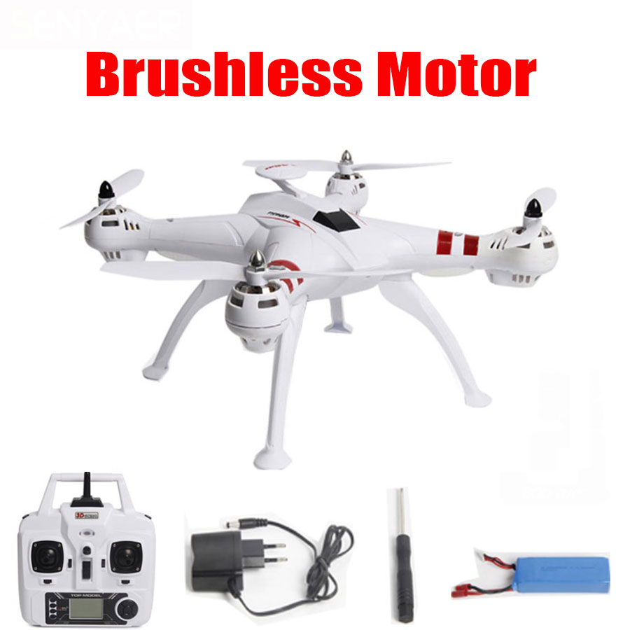 BAYANGTOYS X16 RC Helicopter Brushless Motor Drone 2.4G 4CH 6Axis With RTF Automatic Return 360 Degree Flip Mini Quadcopter