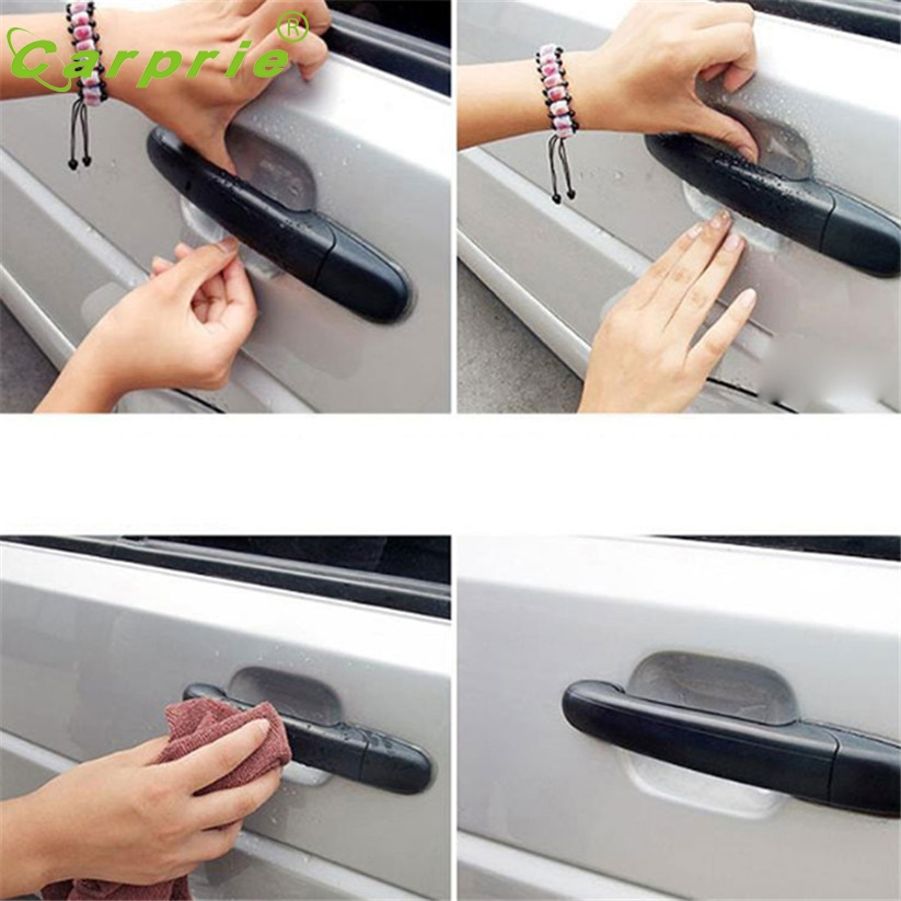 Protective-Film Door-Handle Stickers Cars Car-Styling On For Nissan Volkswagen/jetta