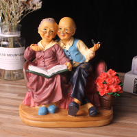 Figures Miniature Garden Resin Crafts Grandma statuettes for home decoration accessories Terrarium Figurines Wedding Gifts