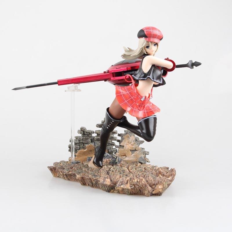 Japan Anime God Eater 2 Alisa Ilyinichna Omela Burst Alisa 1/7 Scale Sexy PVC Painted Figure Collectible Model Toy 20cm