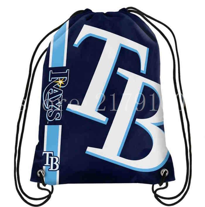 factory-promotion-35-45-cm-knitted-polyester-Tampa-Bay-Rays-backpack-sports-bag-with-rope-Metal