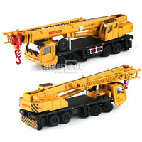 KDW Construction Equipment Crane Car (1:55 Diecast Vehicles Model Toy)
