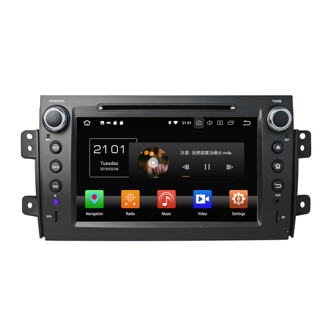 "KLYDE 8""2 Din 8 Core Android 8.0 Car Multimedia Player For Suzuki SX4 2006-2012 Car Radio Car Stereo Audio 1024*600 DVD Player"