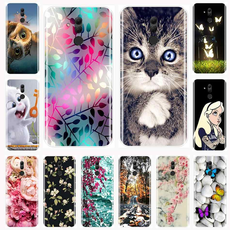 Phone Case For Huawei Mate RS 9 10 20 20X Lite Soft TPU Fashion Cute Animal Back Cover For Huawei Mate 9 20 Pro Case Silicone