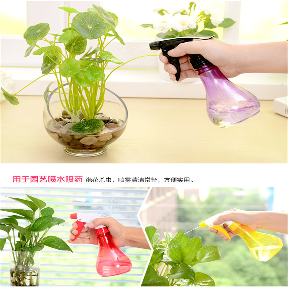 2018082104 xiangli 6 coloursCandy color watering can watering can watering can garden Supplies 45 extrusion type plastic plants watering can kettle ivory 250ml