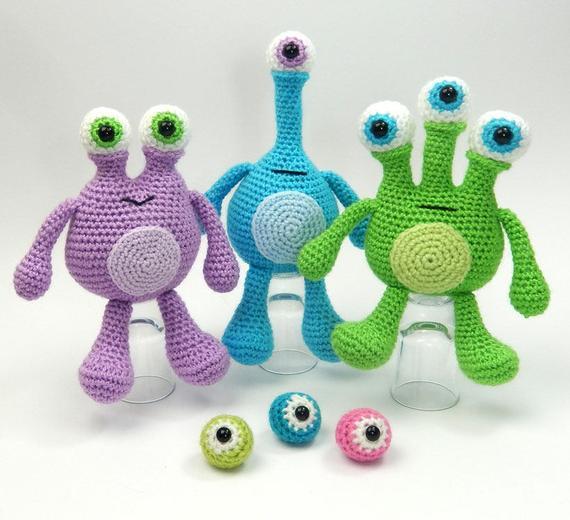 Crochet Toys  Monster Model Number B0515