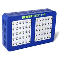 MEIZHI Reflector 300W LED Grow Light Full Spectrum Hydroponics Indoor Plant Lamp