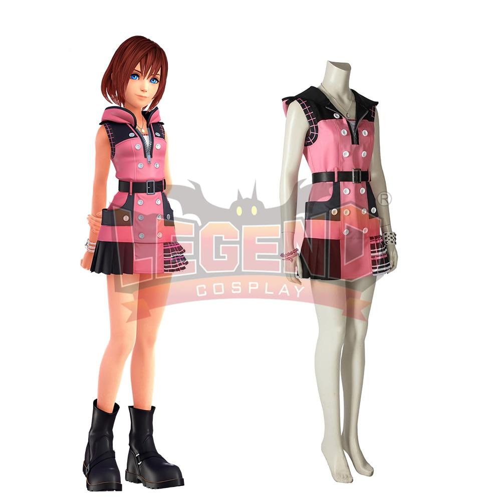 Kingdom Hearts III Kairi Cosplay costume custom made