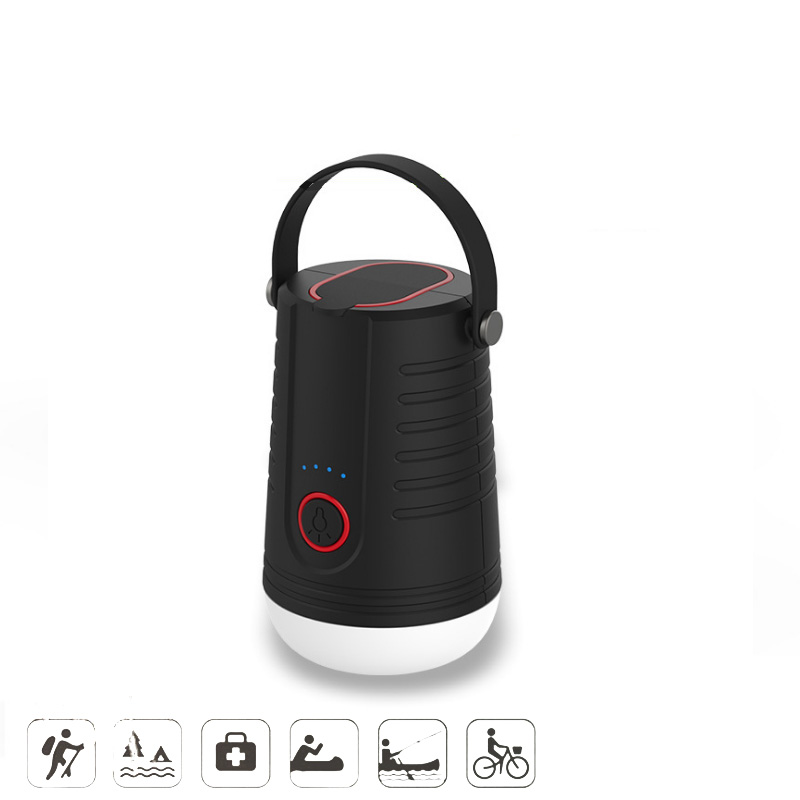 Mini Hand Portable Lantern Outdoor 135Hour Tent Lamp Emergency SOS Camp Lights USB Charging 5200 mAh