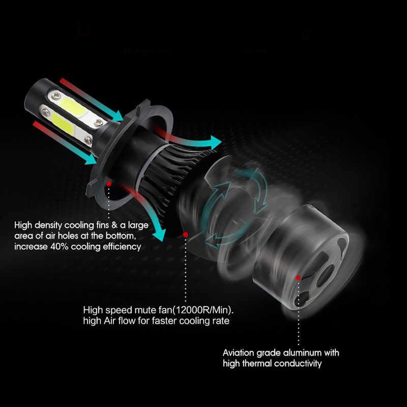 Car headlight Mini Lamp H8 LED Bulbs H11 LED H7 Headlamps Kit 9005 HB3 9006 HB4 6500k Fog light 12V X7 LED Lamp 50W 10000LM