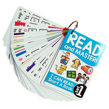 Cartes Flash phonétiques anglais pour enfants, 107 groupes/ensemble, jeux Flash Montessori, jouets éducatifs pour enseigner, cadeau pour bébés