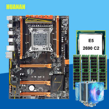 Discount X79 motherboard with M.2 slot HUANANZHI deluxe X79 LGA2011 motherboard with CPU Xeon E5 2690 2.9GHz RAM 16G(4*4G) RECC - DISCOUNT ITEM  59% OFF All Category