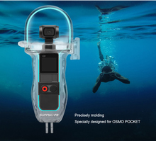 60m Camera Diving Underwater Waterproof Case Housing Cover For DJI OSMO Pocket Gimbal