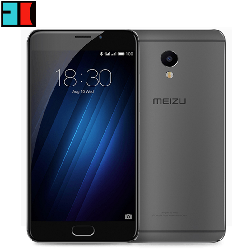 Original Meizu M3E MEILAN M3E(M1E) 5.5 inch 1080P MTK Helio P10 Octa Core 3GB RAM 32GB ROM Cell Phone 13.0MP Camera Fingerprint