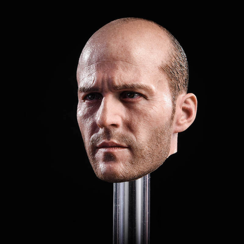 1/6 Scale male man boy head Jason Statham Head Sculpt Fast and Furious 8 Death Squads CarvingFit 12 Action Figure Body