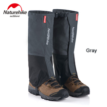 Naturehike Men's Women's Hiking Climbing Waterproof Legging Gaiters Outdoor Waterproof Snow Gaiters Shoes Cover NH17A001-D