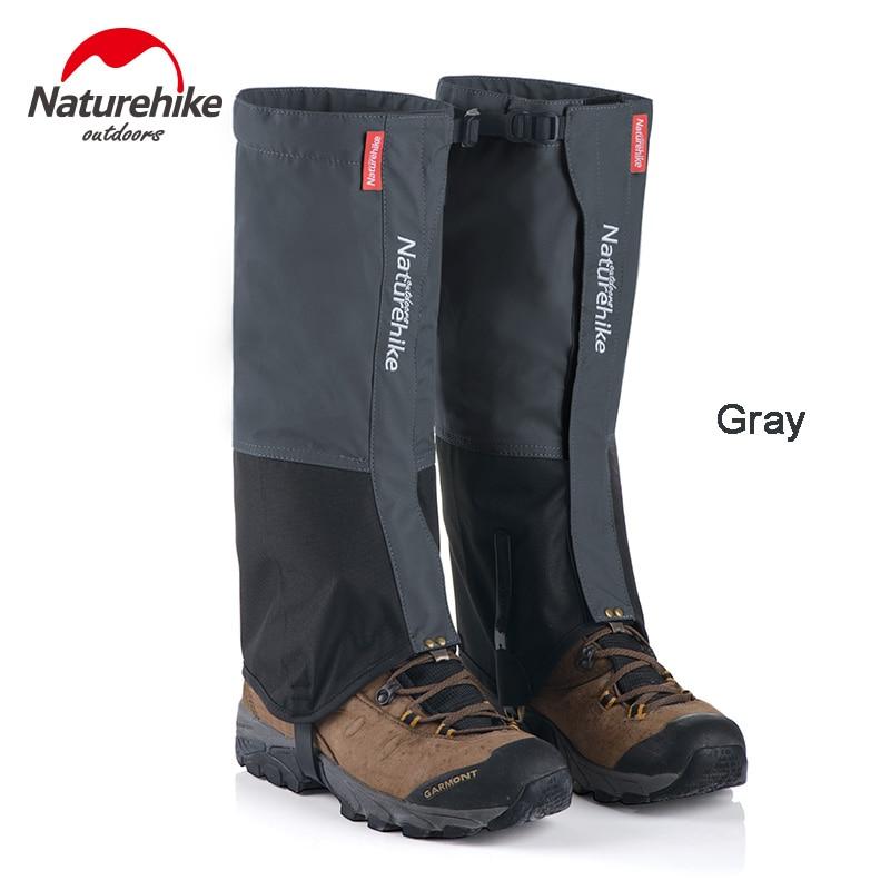Naturehike Men's Women's Hiking Climbing Waterproof Legging Gaiters Outdoor Waterproof Snow Gaiters Shoes Cover NH17A001-D