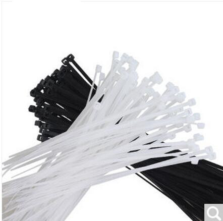 250Pcs/pack 8*350 400 450 500mm CE approved white black color Self-locking Plastic Nylon Cable Ties,Wire Zip Tie yds 200m 4 x 200mm self locking nylon cable tie wraps white 500 pcs page 8