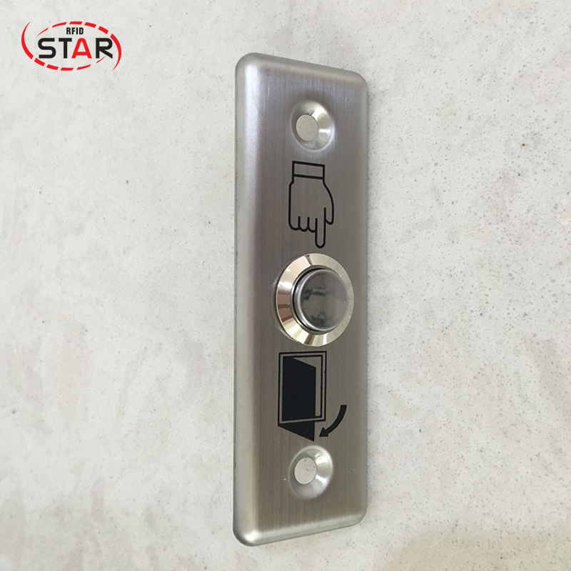 Security & Protection Access Control Rfid 5pcs/lot Touch Switch Door Exit Button For Access Control Hot Sale Stainless Steel Metal Exit Button Clients First