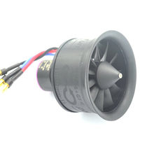HTIRC 50mm 11 Blades Ducted Fan EDF Unit With 3S D2627 4900KV Brushless Motor For RC Airplane(China)