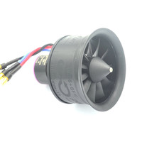 HTIRC 50mm 11 Blades Ducted Fan EDF Unit With 3S D2627 4900KV Brushless Motor For RC Airplane