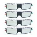 4 pc frete grátis gx-33ab bluetooth obturador ativo universal óculos 3d para samsung/panasonic/tcl/thomson/toshiba/ikea tv gx21ab